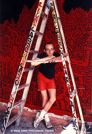 Keith Haring Ladder